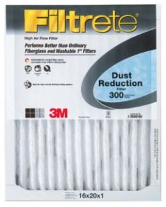 3M Furnace Filter 14x25x1 Dust Reduction 300